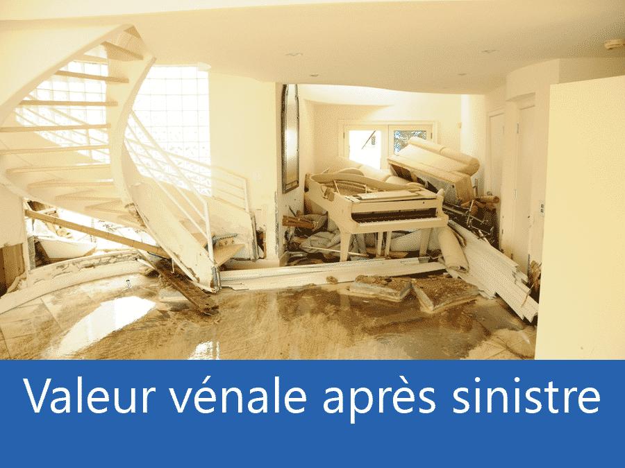 valeur vénale après sinistre Toulouse, valeur dégâts après sinistre 95, avis valeur sinistre Argenteuil,
