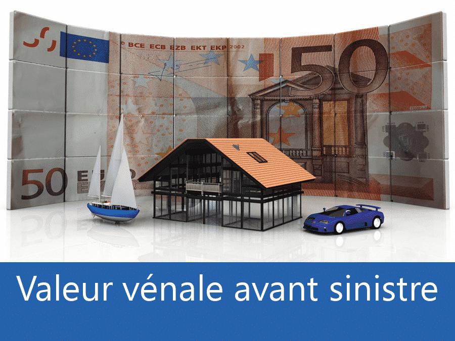Valeur vénal avant sinistre Toulouse, valeur des biens assurance 95, expert valeur vénale Argenteuil,